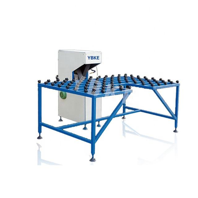 Good quality durable double glazing production line glass beveling machine price