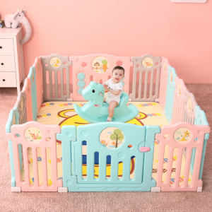 Baby Playpen Portable Playpen Baby Playpen New Design New Fashion 2020 Pink Baby Playpen Portable Playyard For Kids