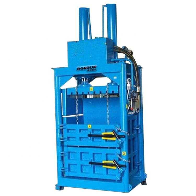 vertical cardboard baler cotton baling press for sale hydraulic baling press