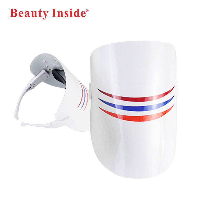 3 Colors Beauty Face masks Health Beauty Creams Booster Device Led Phototherapy Beauty Mask PDT Led Facial Machine