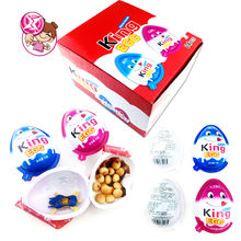 King Joy Big Surprise Chocolate Egg With Toy Car Chocolate  With Biscuit