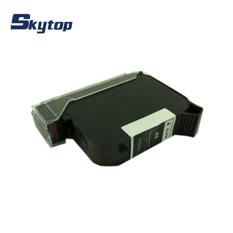 solvent ink cartridge for HP 45si 45A js10 js12