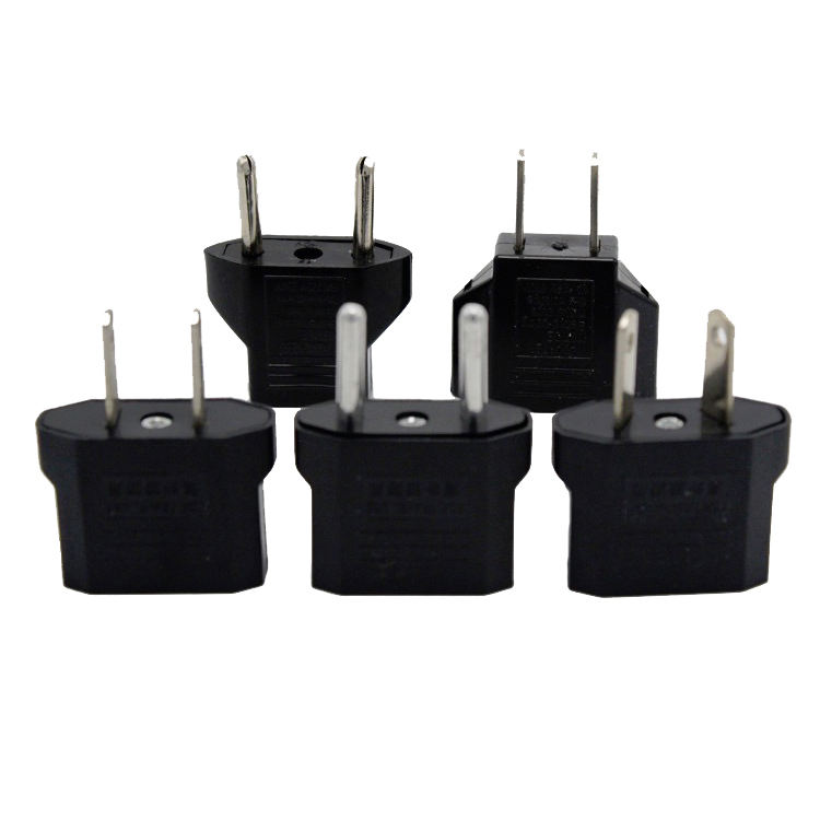 US to EU AUS UK EU to US Travel Power Charger Adapter Plug Outlet Converter