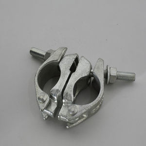 BS 1139 EN 74 scaffolding pipe German Tpye Drop Forged and Pressed Coupler Clamp