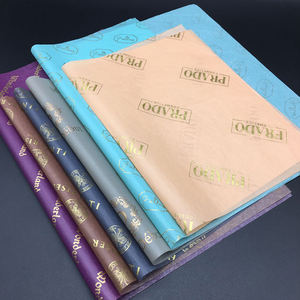 Biodegradable Custom gift wrapping tissue paper for clothes cosmetics