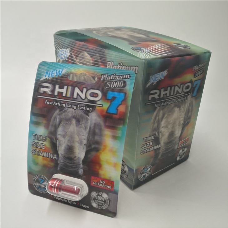 In Magazzino Male Enhancement Pillole carta di Carta Della Bolla rhino black mamba nero <span class=keywords><strong>pantera</strong></span> 3D