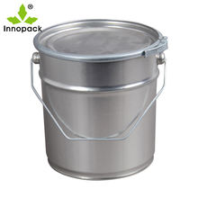 20L Lock ring tin pails / Hobbocks paint bucket