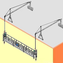 supermarket suspended platform/cradle/gondola/scaffold