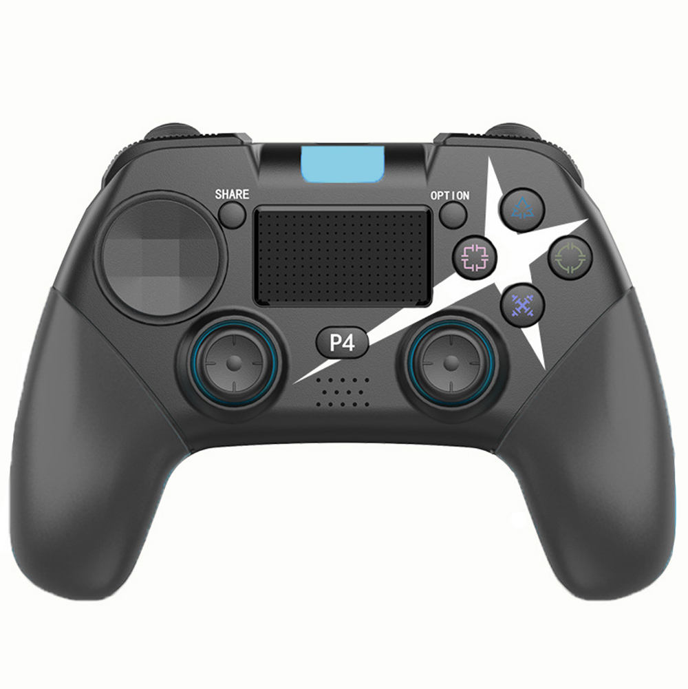high quality 2020 newest design Vibration Touchpad Bluetooth4.0 PS3 PS4 PC computer mobile phone Wireless joysticks Controller