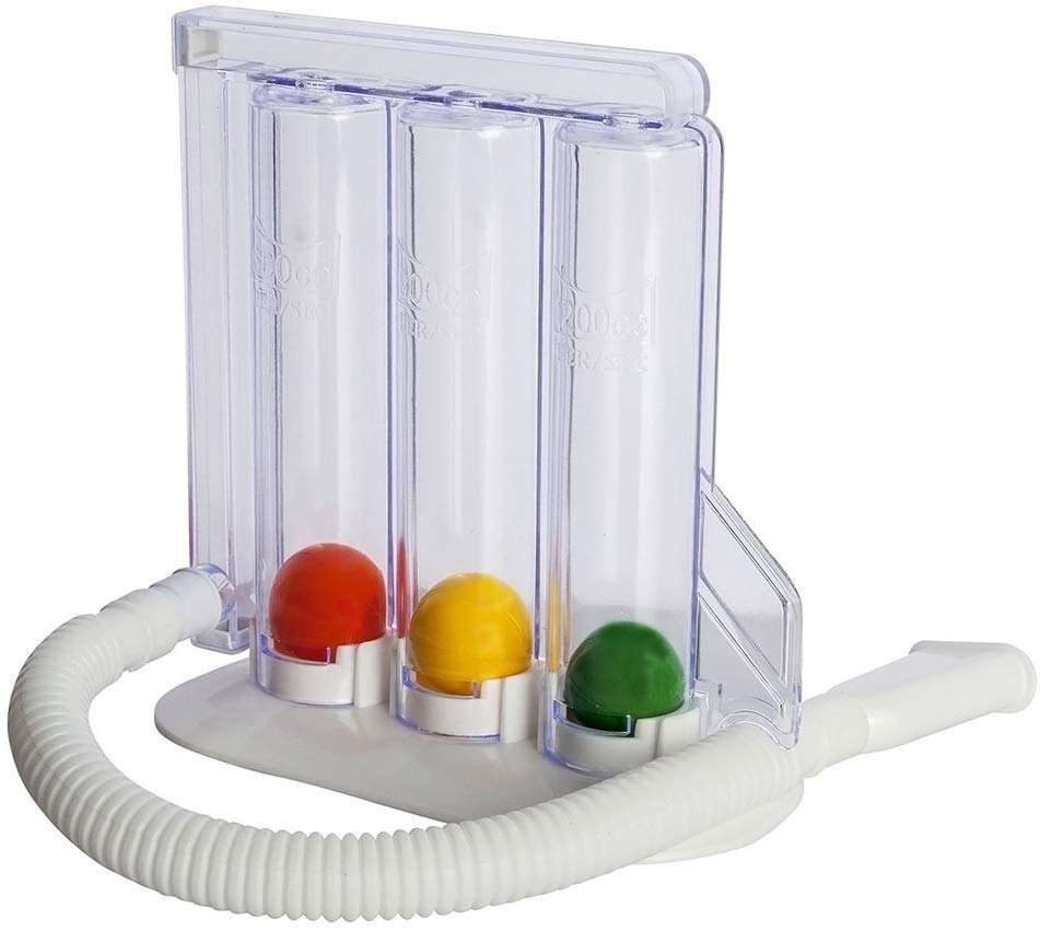Best selling products medical three balls types of mouthpiece portable 3 ball incentive spirometer