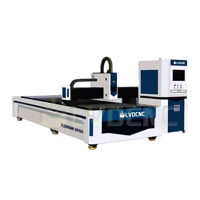 Factory Price Co2 metal/Acrylic/MDF/wood laser cutter cnc fiber laser cutting machine