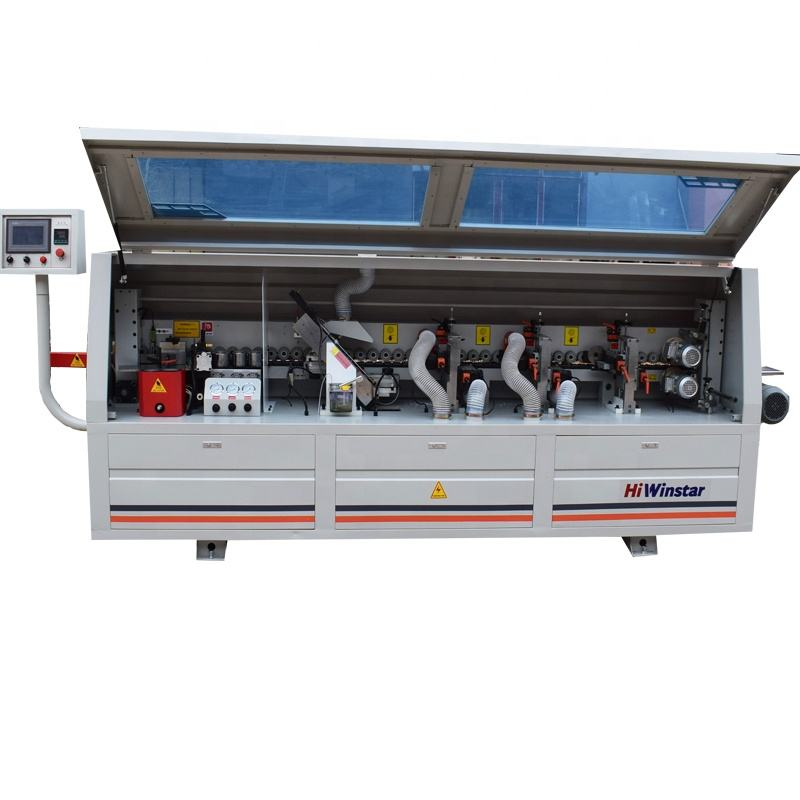 MF360A full automatic kitchen cabinet plywood MDF board PVC edge bander edge banding machine