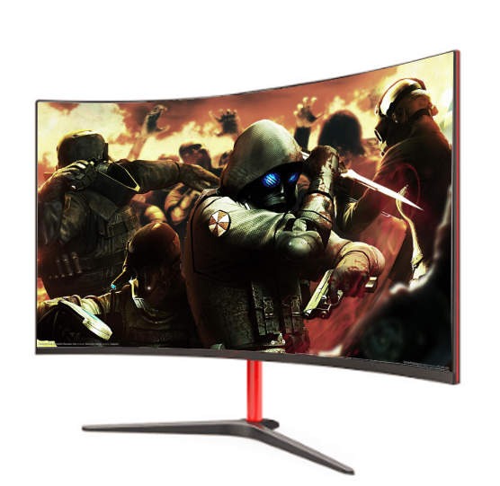 2020 nouveau 1k moniteur 75hz 1ms led de jeu de bureau/business monitor