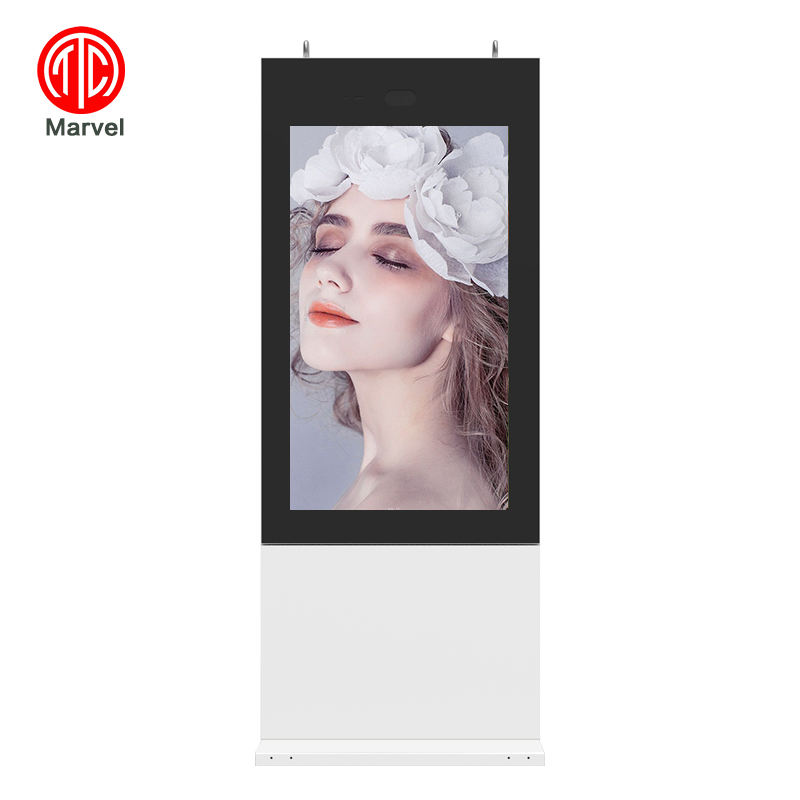 Impermeabile Interattivo FHD Stand-Alone LED monitor touch screen <span class=keywords><strong>lcd</strong></span> esterno pubblicità digital signage
