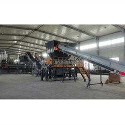 Tire recycling machine Tire crushing machine production line