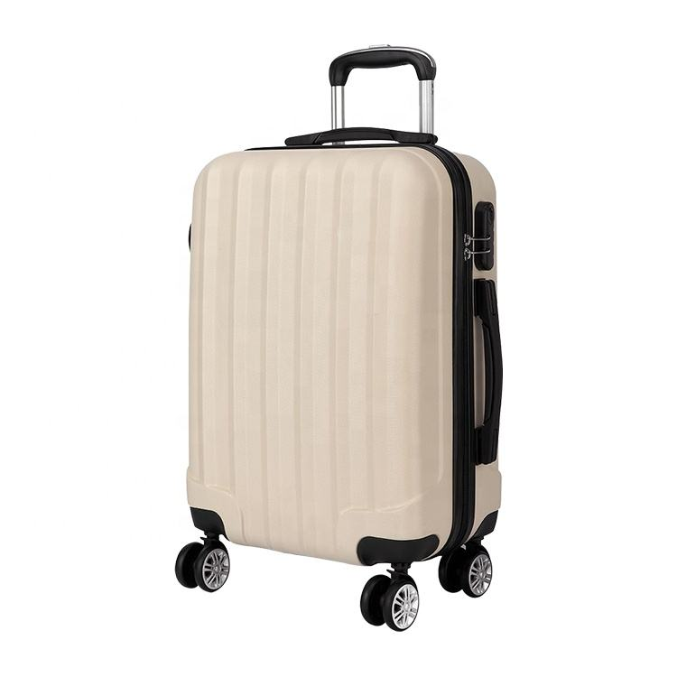 OEM/ODM Luxury Travel ABS Rolling 3 Pieces Luggage Suitcases Sets
