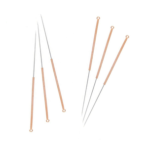 Chinese traditional cooper handle acupuncture needle