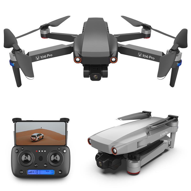 Senior GPS drone 106 pro 4K pixels powerful creative flagship 3 axis mechanical gimbal EIS electronic image stabilization