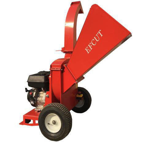 EFCUT B027 | New Design Best Performance Precise Adjustment Rotary Wood Chipper Shredder With Red Color
