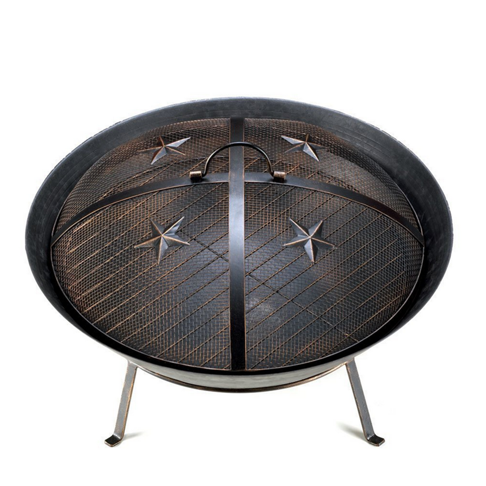 Cast Iron Outdoor Fireplace Wood charcoal Burning Chiminea Fire Pit