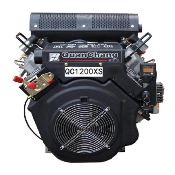 35HP V-twin air-cooled diesel motor