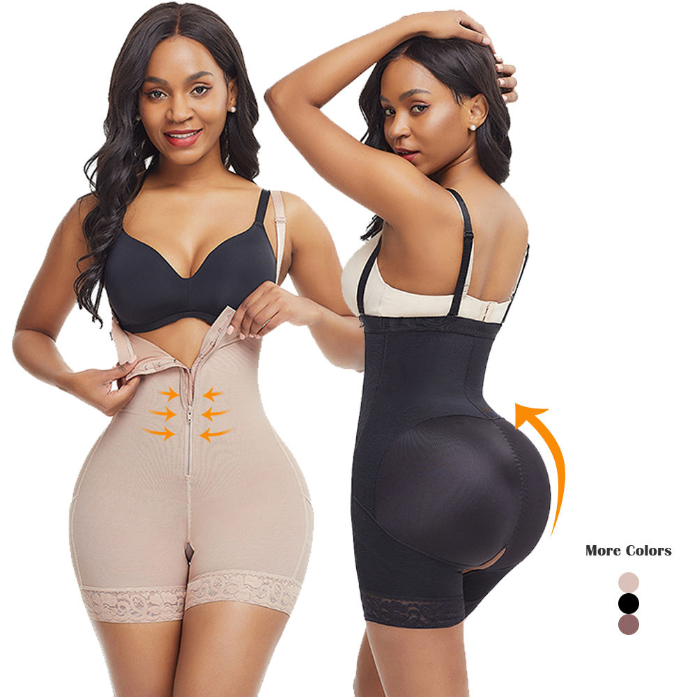 Fajas Reductoras Full Body Shaper Slimming Shapewear Bodysuit Post Surgery