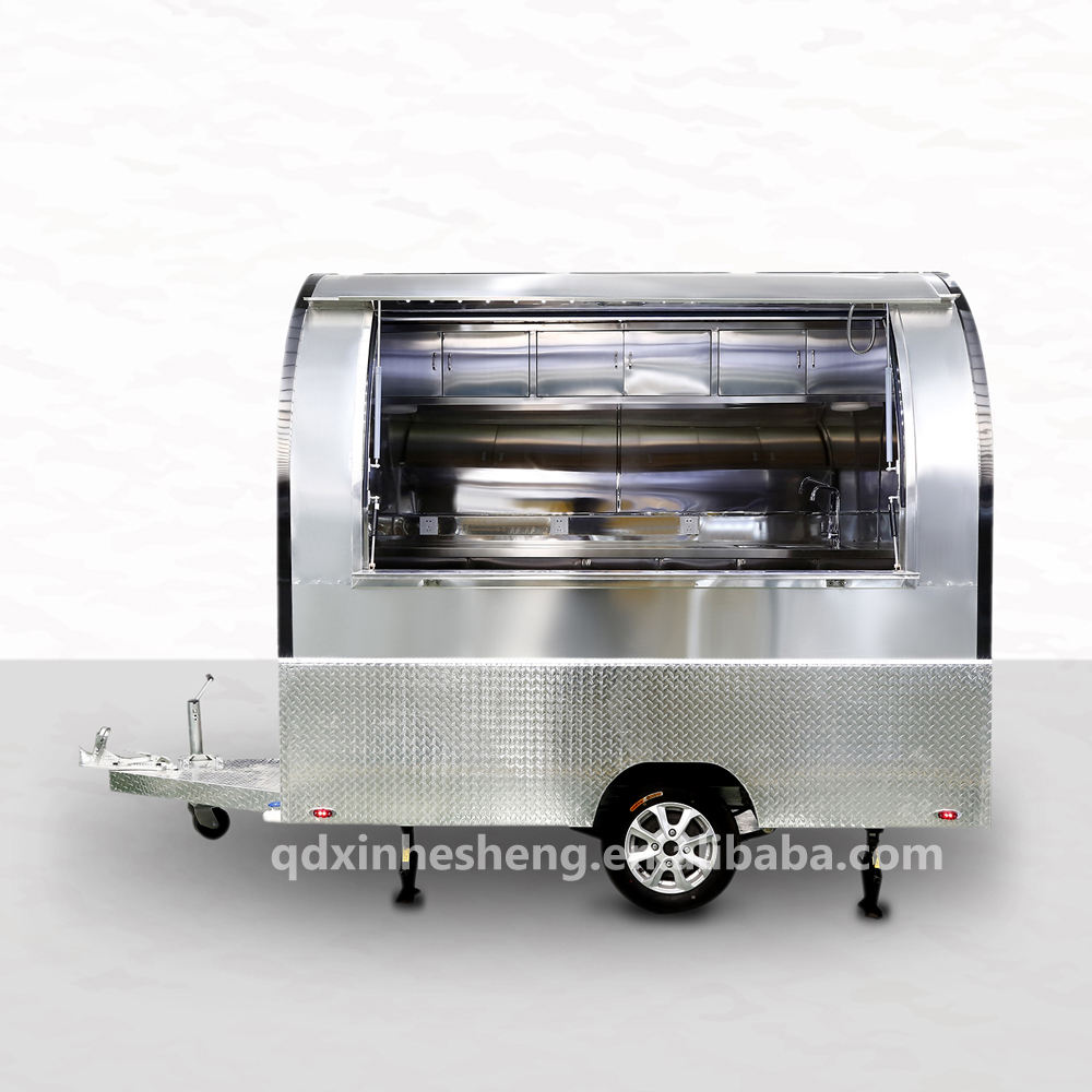 China supplier customized movable food truck usati fast food truck for sale small food cart