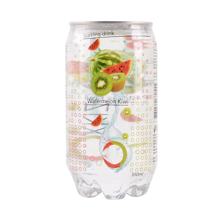 350ml OEM Custom private label fruit flavored carbonated soft drink