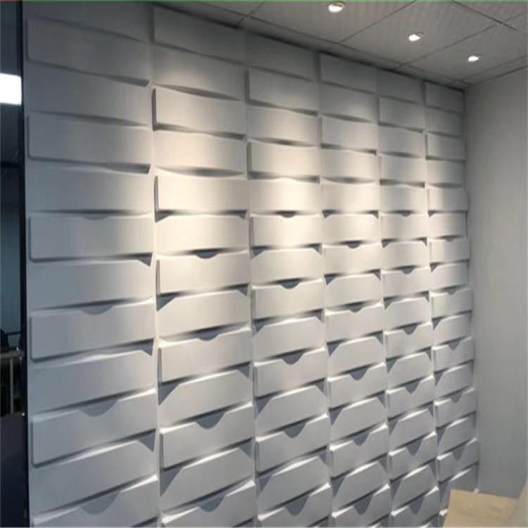 FREE SHIPPING 100% Waterproof pvc 3d design wall panel