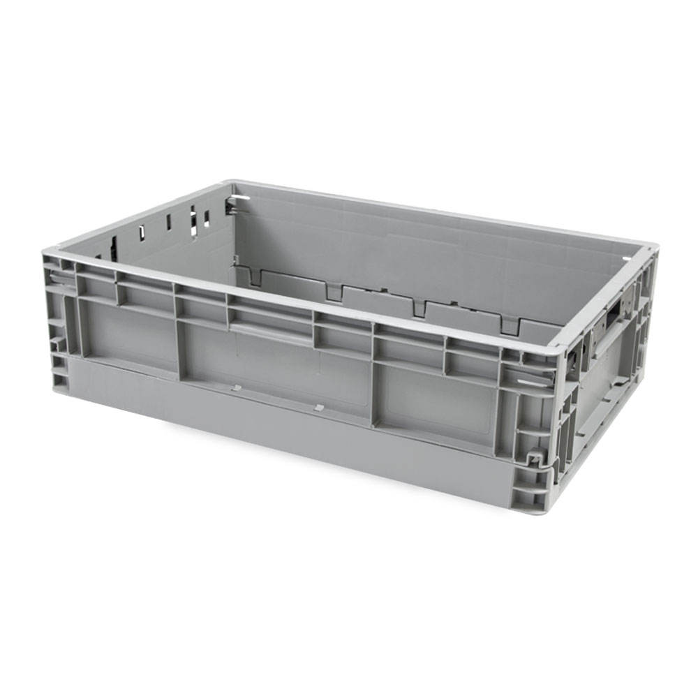 High quality Plastic Collapsible storage crate logistics industrial storage crates