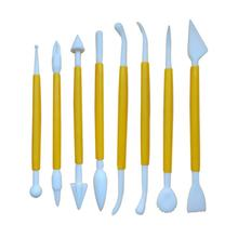 Cake Decorating Tools 8-Piece Fondant and Gum Paste Decorating Tool Kit, Assorted