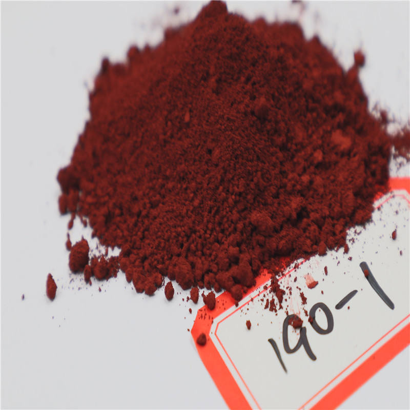 Discount Price iron oxide red pigment 190-1