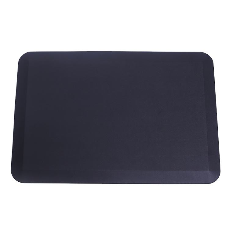 High quality black anti fatigue roll polyurethane PU foam relief foot pressure floor mat,standing desk PU floor mat office