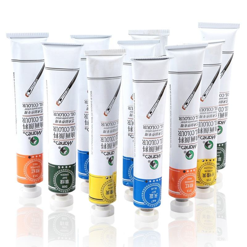 Non Toxic Pigment Acrylic Paint Supplies Set 12/24/36 Colours Private Label Acrylic Paint Tube