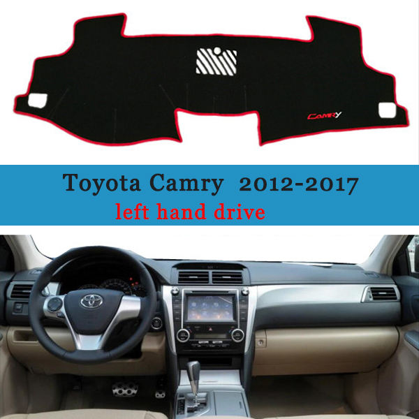 Cover Protective Pad for Toyota Camry XV50 Car Accessories Dash Board Sunshade Carpet Dashboard