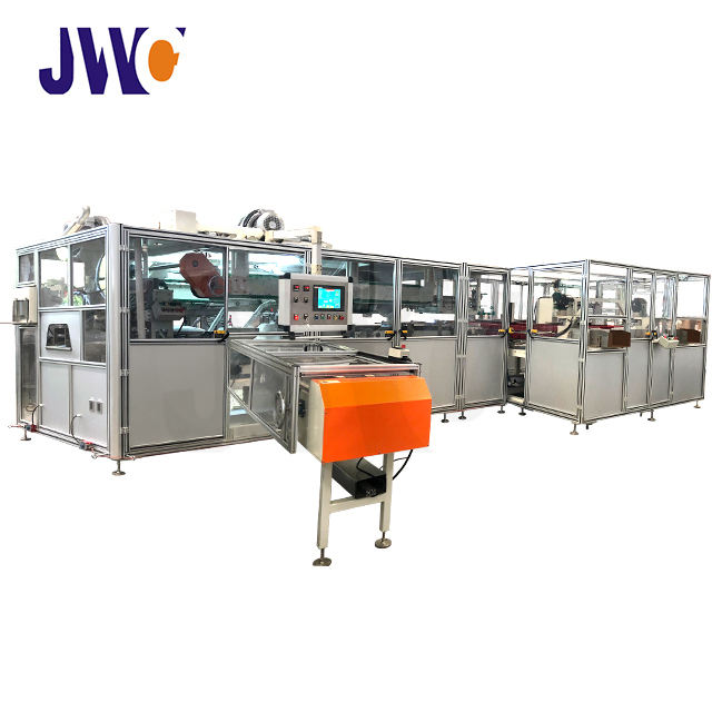 Sanitary Napkin Auto Bagger Machine Auto Stacker And Bagger Machine