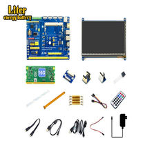 Raspberry Pi Compute Module 3+/16GB Development Kit Type B, CM3+ IO Board, HDMI LCD, DS18B20, IR Remote Controller