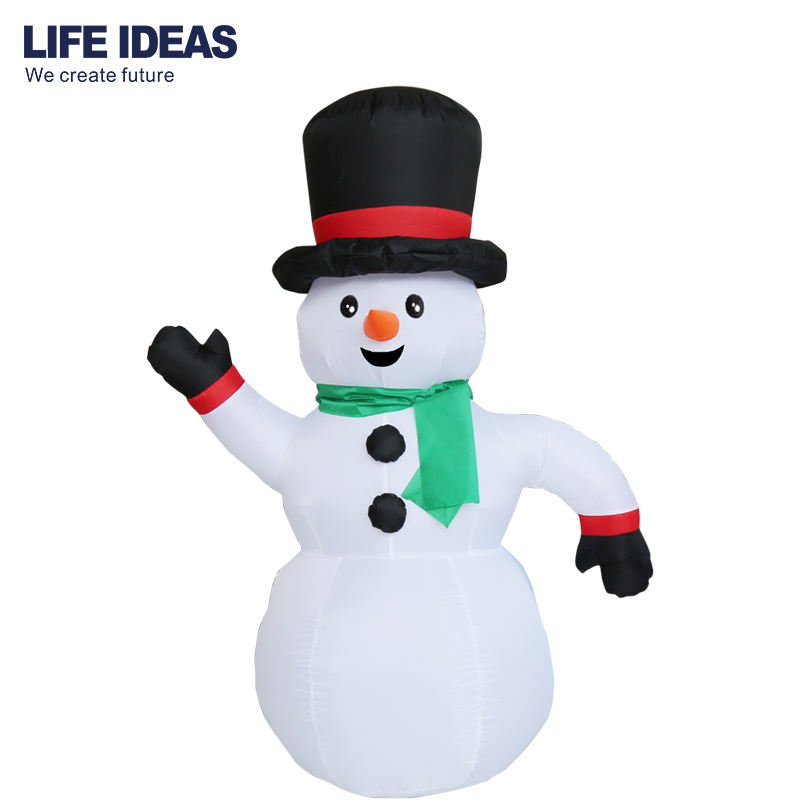 4FT Christmas Inflatable Snowman, Snowman Inflatable Christmas Decoration