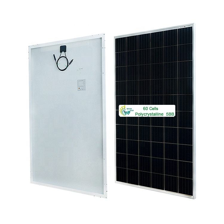 Maysun High Anti-PID PV Solar Panel 5BB 12BB 60 Cells Poly Series for Solar Project