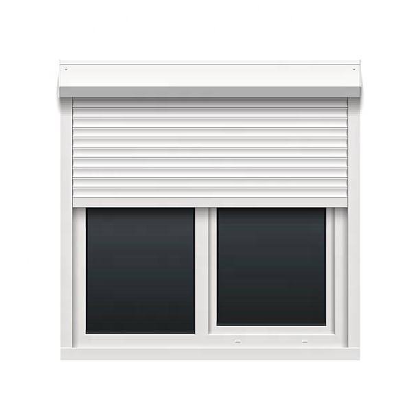 Low Price Aluminum Glass Window Roller Shutters From China