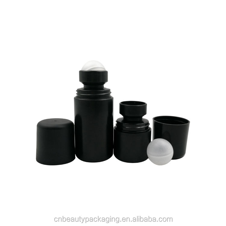 30ml 50ml oil roller bottles roll on plastic deodorant container with holes on top