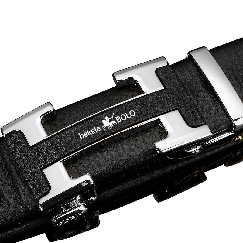 2020 Male Strap 110 cm /120 cm Length Mens Belt Automatic Ratchet Buckle with PU Leather Belts