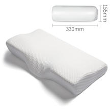 Orthopedic Cervical Neck Support Pain Relief Contour Butterfly Shape Anti Snore Bed Almohadas Ortopedicas Memory Foam Pillow