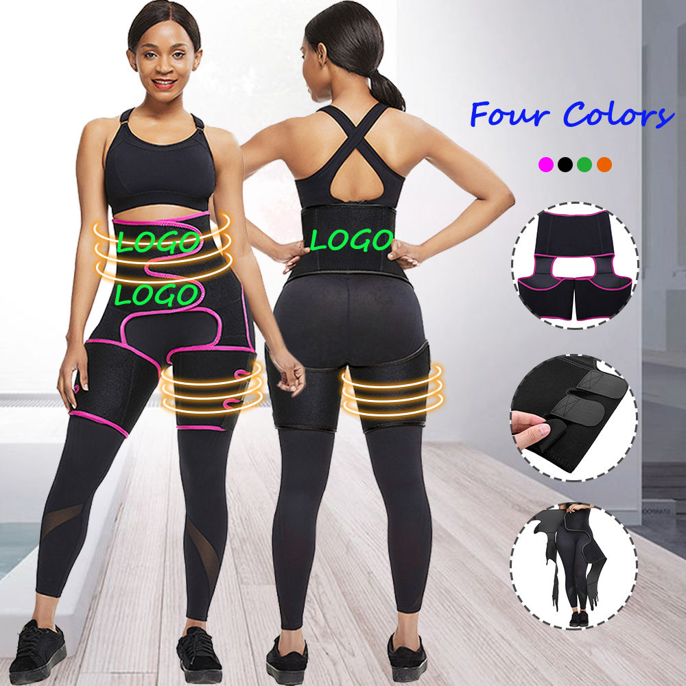 2020 New Women's High Waist Compression Thigh Trimmer Tummy Control Slimming Thigh And Bodyshaper