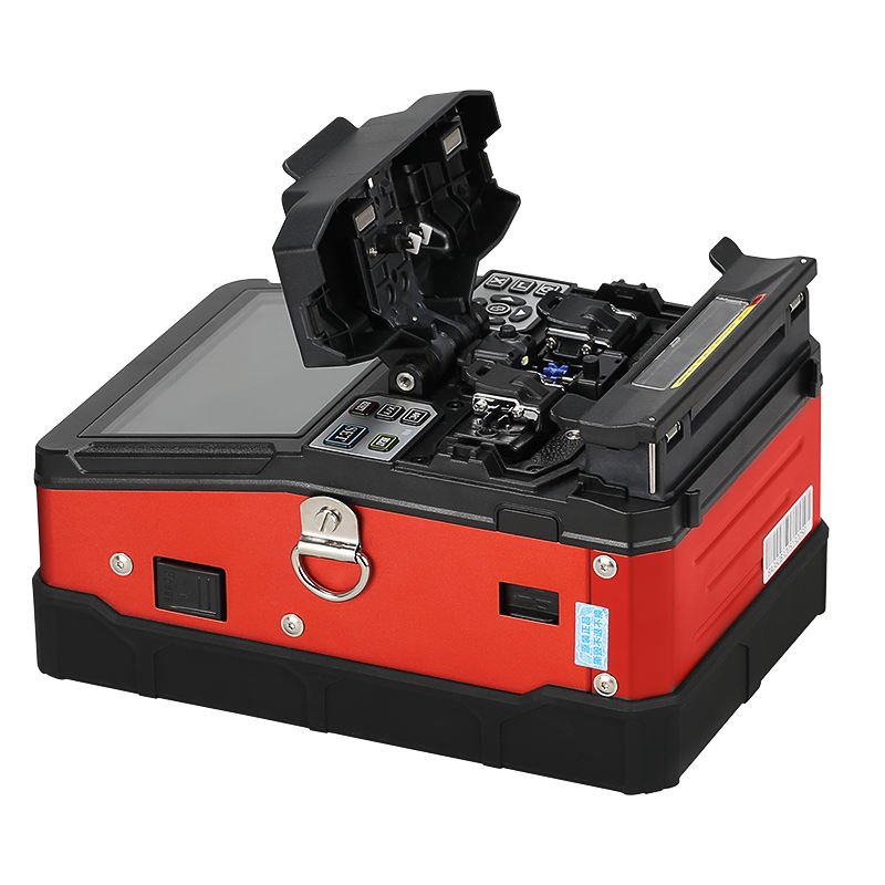 COMPTYCO A-81S Fully automatic FTTH Fiber Optic Welding Splicing Machine Optical Fiber Fusion Splicer New product