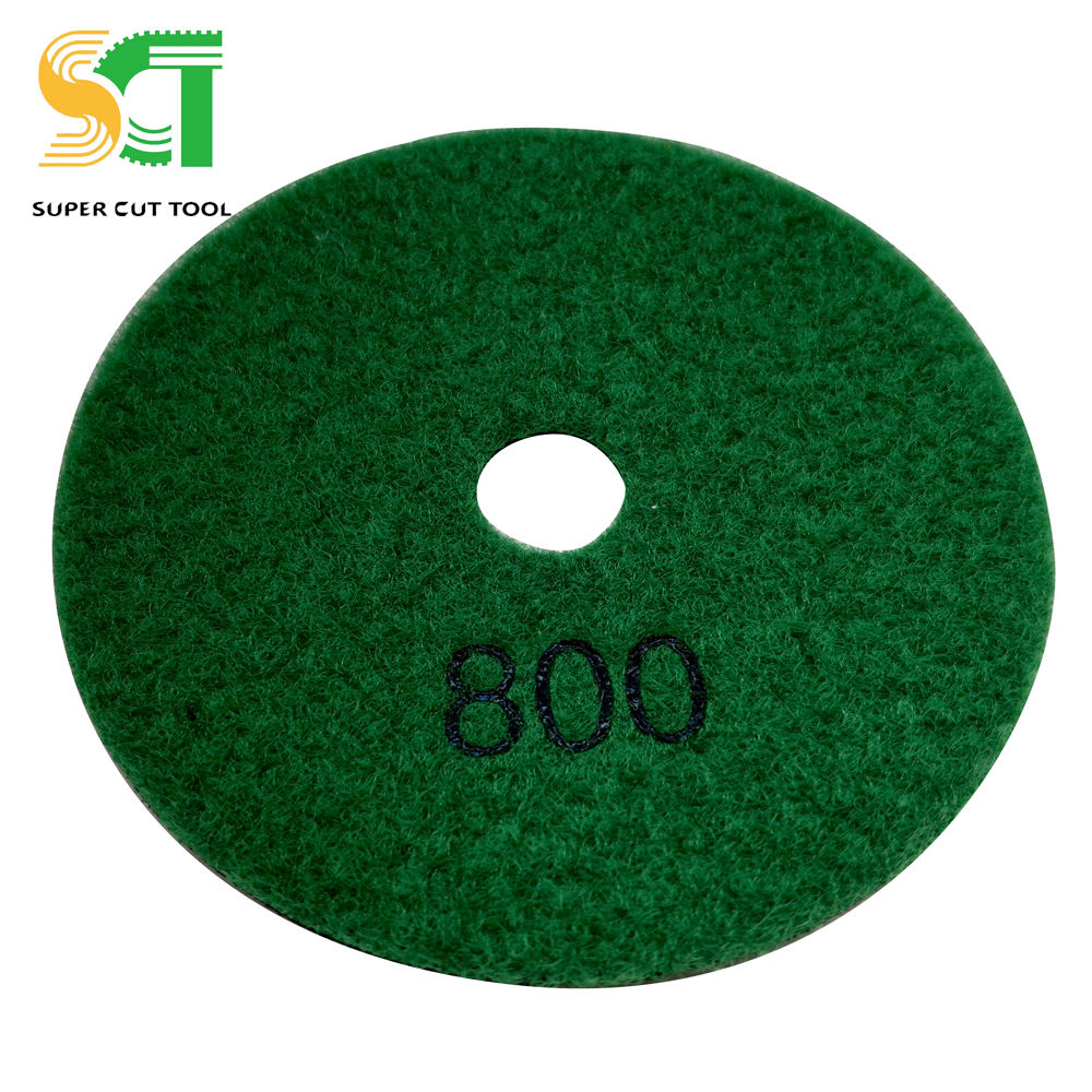 6in High Cost Performance Granite Polishing Pad Cut Porcelain Tiles