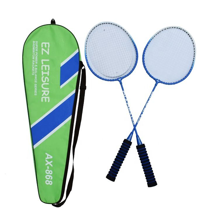 Merk 2 Spelers Badminton <span class=keywords><strong>Racket</strong></span> Professionele Voor Trainer Best Selling