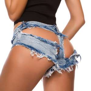 862 # neue Sexy Frauen Denim Shorts Hotpants Mini jeans Hot pants Low Taille Kurz distressed jeans frauen damen jeans