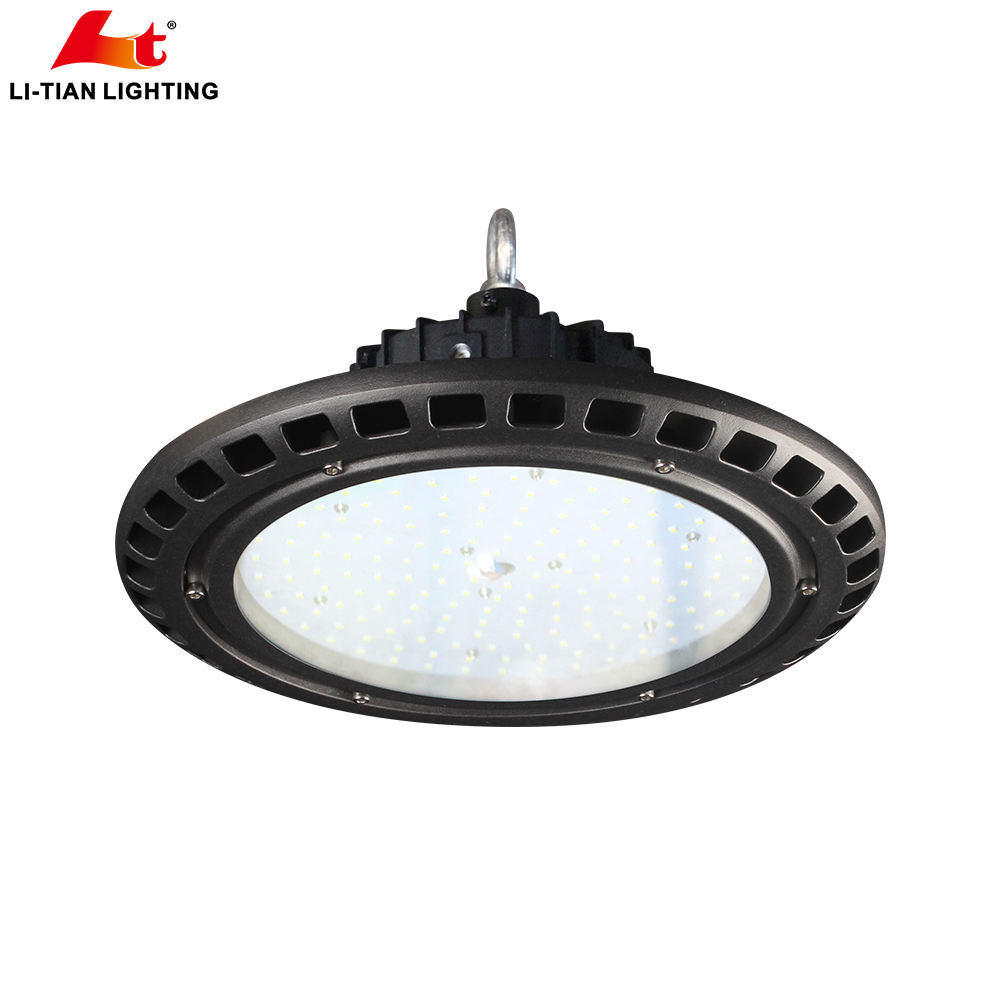 Beam Angle 90degree Industrial Warehouse lighting IP65 LED UFO HighBay Light Fixture