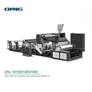 ONL-M1100-1800 High Speed Fabric Laminating Press Machine, Extrusion Film Non Woven Laminating Machine